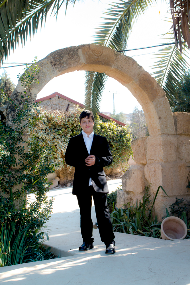 Bar mitzvah book photoshoot by Miriam Feyga