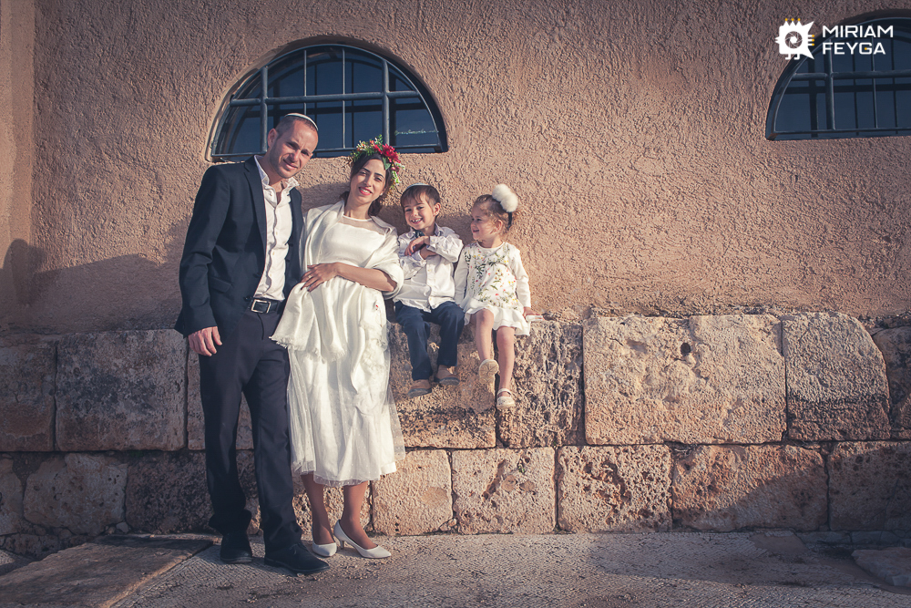 Family photoshoot by Miriam Feyga